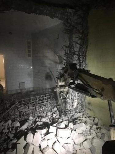 Seifi lammutus robotiga BROKK 150